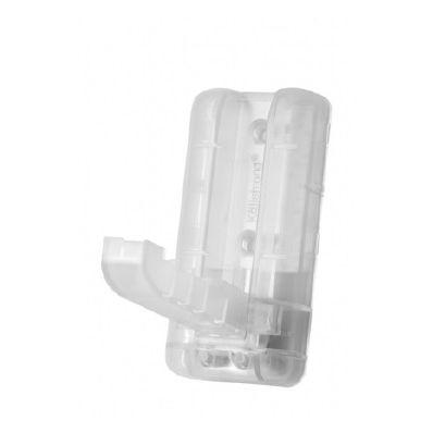 BLISTER (1) PERCHA GRANDE PLASTICO RETRACTIL ADHESIVO TRANSPARENTE P04005T