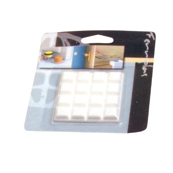BLISTER TOPES MULT/ADH 12X12MM TRANSPARENTE 72536