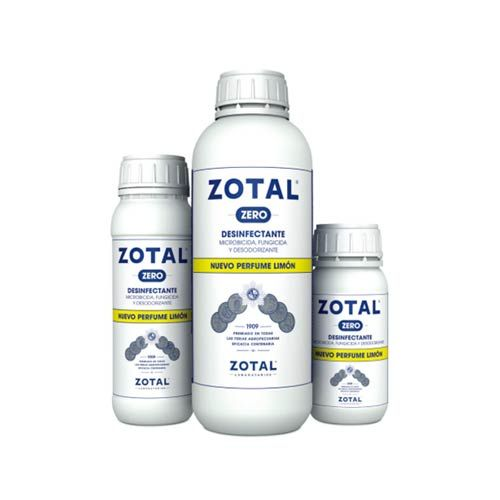 BOTE DESINFECTANTE ZOTAL ZERO (PERF.LIMON) 500ML