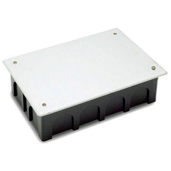 CAJA REGISTRO EMPOTRAR RECTANGULAR 200X130X60 C/TORNILLOS 3203T